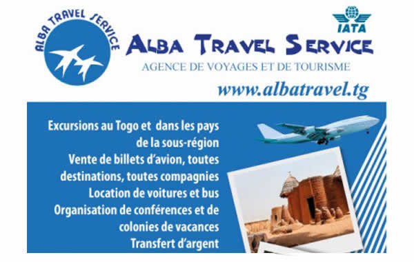 alba travel services agences de voyage au togo togo tourisme. Black Bedroom Furniture Sets. Home Design Ideas