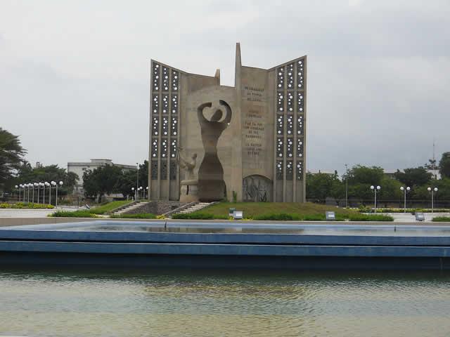 Monument de l'indépendance à Lomé - Togo